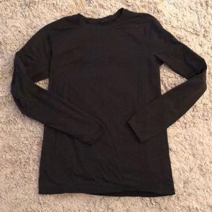 Lululemon men's long sleeve shirt black L